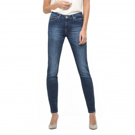 Lee Scarlett Women's Skinny Stretch Jeans Night Sky | Jean Scene