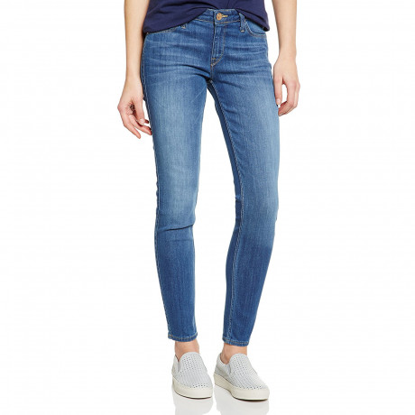 Lee Scarlett Women's Skinny Stretch Jeans Blue Stone | Jean Scene