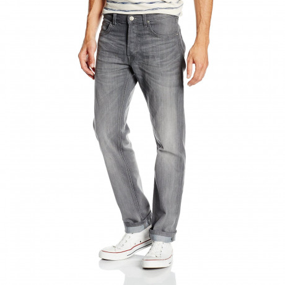 Lee Daren Regular Slim Storm Grey Denim Jeans | Jean Scene
