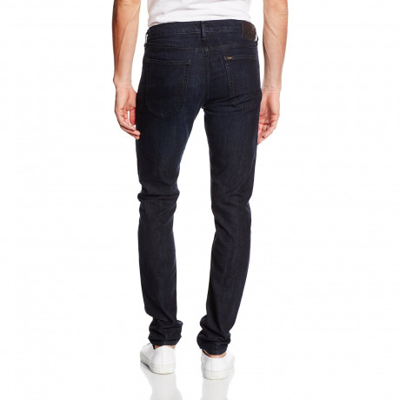 Lee Luke Slim Tapered Raven Blue Denim Jeans | Jean Scene