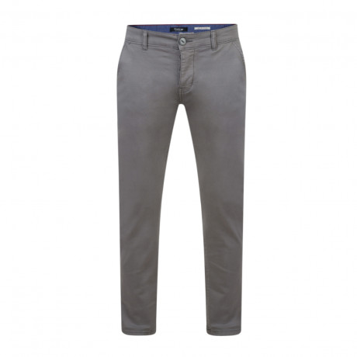 Firetrap Newaygo Slim Fit Cotton Chinos Pewter Grey   Jean Scene