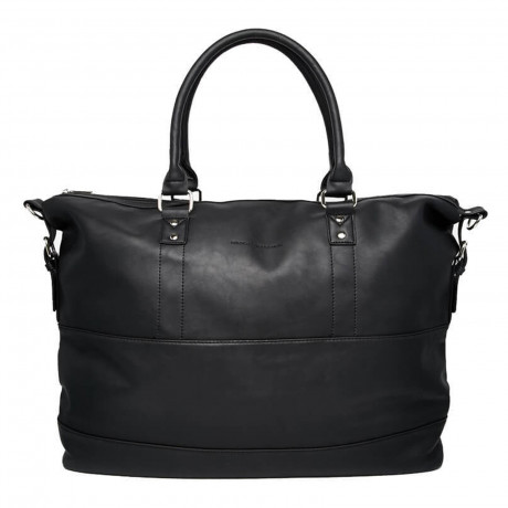 French Connection Holdall Twin Handle Large Travel Bag Tote Black | Jean Scene