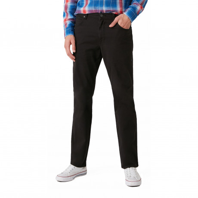 Wrangler Texas Stretch W3 Soft Fabric Jeans Black | Jean Scene