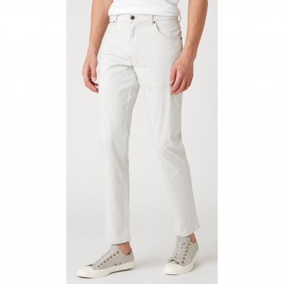 Wrangler Texas Slim W7 Soft Fabric Jeans Vapour Grey | Jean Scene