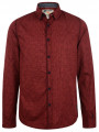 Garcia Jeans Long Sleeve Pattern Shirt Radish Red