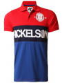 Nickelson Men's Limehouse Polo Shirt Postbox Red