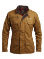 Ringspun Men's Scramble Cotton Field Jacket Duck Brown