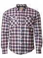 Tokyo Laundry Lined Lumberjack Check Shirt Red