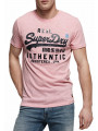 Superdry Vintage Authentic Logo T-Shirt Pastel Pink Marl