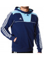 adidas Essentials 3-Stripes Track Top Hoodie Navy Blue