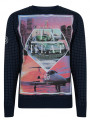 Conspiracy Hollywood LA Heat Los Angeles Sweatshirt Navy Blue