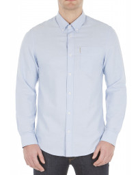 Ben Sherman Casual Men's Oxford Shirt Blue Shadow | Jean Scene