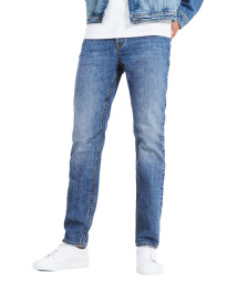 Jack & Jones Mike Original Comfort Fit Denim Jeans Light Blue | Jean Scene