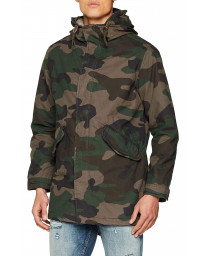 Jack & Jones Original Bento Men's Jacket Forest Camo | Jean Scene