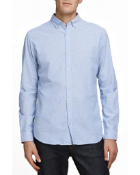 Jack & Jones Oxford Long Sleeve Summer Shirt Infinity | Jean Scene