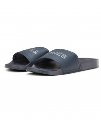 Jack & Jones Men's Larry Slip On Sliders Sliders Navy | Jean Scene