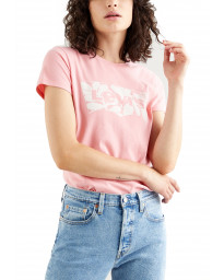 Levis Womens Batwing T-Shirt Short Sleeve Shapes Peony | Jean Scene