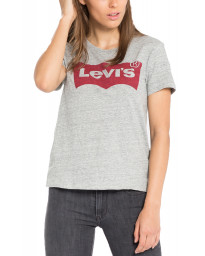 Levis Womens Batwing T-Shirt Short Sleeve Smoke | Jean Scene