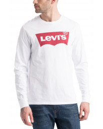 Levis Original HM Long Sleeve Men's T-Shirt White | Jean Scene