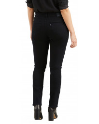 Levis 712 Women's Slim Stretch Jeans Black Sheep | Jean Scene