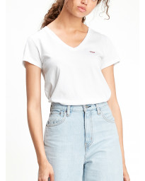 Levis Womens Perfect T-Shirt Short Sleeve White | Jean Scene