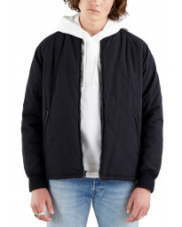 Levis Hyde Quilted Bomber Jacket Caviar | Jean Scene
