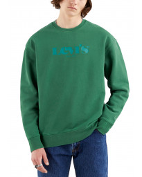 Levis T3 Relaxed Graphic Sweatshirt Forest Biome | Jean Scene