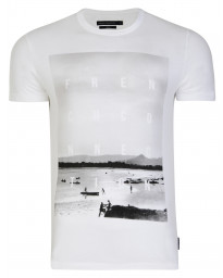 French Connection Bondi Summer T-shirt White | Jean Scene