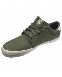 K-Swiss Men's Backspin Canvas Shoes Trainers Agave Green | Jean Scene