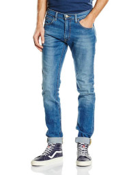 Lee Luke Slim Tapered Fit Denim Jeans Authentic Blue