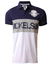 Nickelson Men's Limehouse Polo Shirt Peacoat