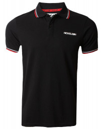 Nickelson Men's Old Street Polo Shirt Anthracite