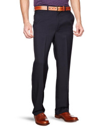 Farah Flexi Waist Trousers Navy