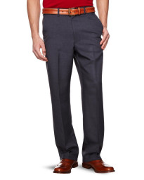 Farah Flexi Waist Trousers Storm Blue