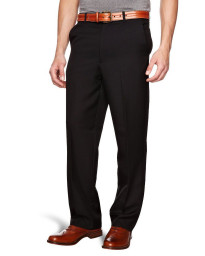 Farah Flexi Waist Trousers Black
