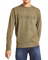 Timberland Logo Regular Sweatshirt Long Sleeve Grape Leaf | Jean Scene