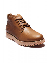 Timberland Mens Jackson Landing Leather Chukka Shoes Rust | Jean Scene