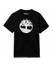 Timberland K-R Brand Tree Regular Logo T-Shirt Black | Jean Scene