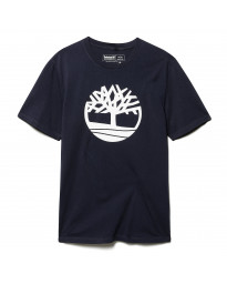 Timberland K-R Brand Tree Regular Logo T-Shirt Long Sleeve Dark Sapphire | Jean Scene