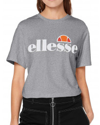 Ellesse Womens Logo T-Shirt Short Sleeve Grey Marl | Jean Scene