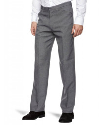 Farah Hopsack Trousers Mid Grey Image