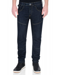 Firetrap Slim Fit Denim Jeans Dark Blue Raw Wash Lowth Image