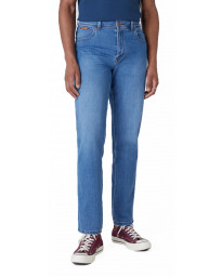 Wrangler Texas Stretch Denim Jeans Blazing Blue | Jean Scene