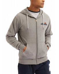Ellesse Men's Briero FZ Zip Hoodie Black | Jean Scene
