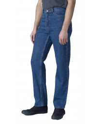 Rockford Long Leg Denim Jeans Blue Stonewash Blue | Men's Rockford Jeans | Jean Scene