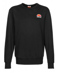 Ellesse Men's Perth Embroided Logo Sweatshirt Black | Jean Scene