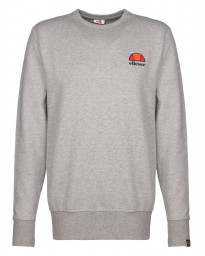 Ellesse Men's Perth Embroided Logo Sweatshirt Grey Marl | Jean Scene