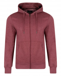 Smith & Jones Men's Zip Up Hoodie Port Royale Marl | Jean Scene