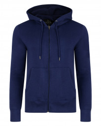 Smith & Jones Men's Zip Up Hoodie Patriot Blue | Jean Scene