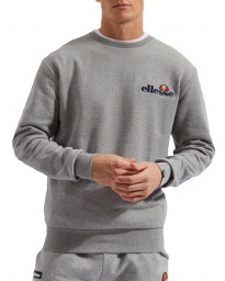 Ellesse Men's Fierro Logo Crew Neck Sweatshirt Grey | Jean Scene